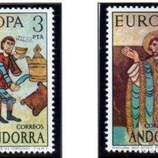 Sellos: ANDORRA.- CATÁLOGO EDIFIL Nº 89/90, EN NUEVO. Lote 117363755