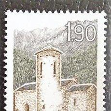 Sellos: ANDORRA FRANCESA. 354 TURISMO: SAN VICENTE DE ENCLAR. 1986. SELLOS NUEVOS Y NUMERACIÓN YVERT.. Lote 277165393