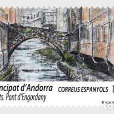 Sellos: SPANISH ANDORRA 2018 - EUROPA 2018 - BRIDGES MNH. Lote 127567132