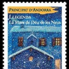 Sellos: [CF7284] ANDORRA FRANCESA 2018, MITOS Y LEYENDAS (MNH). Lote 128171699