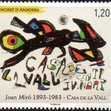 Sellos: [CF7035A] ANDORRA FRANCESA 2018, LA CASA DE LA VALL (MNH). Lote 128173399