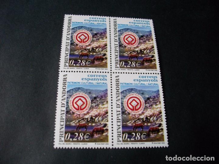 BLOQUE DE 4 SELLOS DE ANDORRA AÑO 2005 LOS DE LAS FOTOS VER TODOS MIS SELLOS EN NUEVO Y USADO (Sellos - Extranjero - Europa - Andorra)