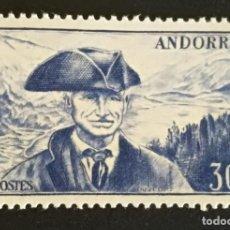 Sellos: ANDORRA FRANCESA / ANDORRE 1948/51** Y&T 137. Lote 133477902