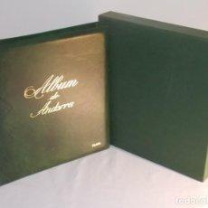 Sellos: ALBUM SELLOS ANDORRA 1980 A 1999 46 PAGINAS. Lote 141491758