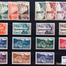 Sellos: ANDORRA FRANCESA SELLOS NUEVOS C/ FIJASELLOS 1955/1958* ED142-160, YV 138-153. Lote 141788742