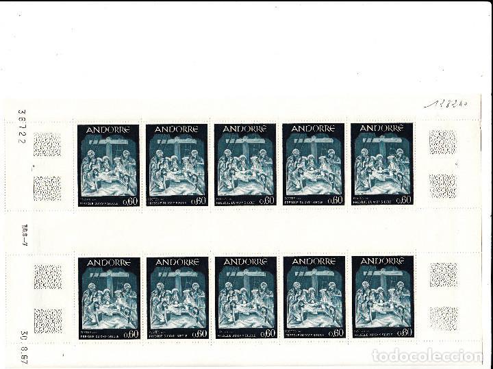 Sellos: ANDORRA 3 PLIEGOS DE 10 SELLOS TEMATICA RELIGION SEMANA SANTA NUMS 184-185-186 - Foto 4 - 142098462