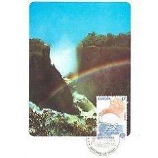 Sellos: TARJETA MAXIMA ANDORRA 86 EUROPA LA RABASSA EDIFIL 191/92 MAXIMUM CARD TC10610. Lote 143124473