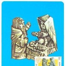 Sellos: TARJETA MAXIMA ANDORRA 1983 NAVIDAD PESEBRE EDIFIL 183 MAXIMUM CARD TC10612. Lote 143124513