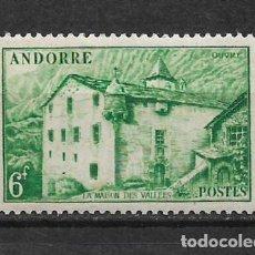 Sellos: ANDORRA FRANCESA 1948-1951 EDIFIL 129 * NUEVO - 1/43. Lote 143786290