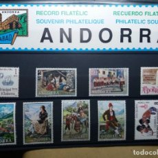 Sellos: SELLOS ANDORRA ESPAÑA. CONMEMORATIVOS AÑO 1980. NUEVOS. Lote 144885838