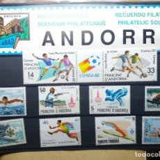Sellos: SELLOS ANDORRA ESPAÑA. JUEGOS OLIMPICOS NUEVOS. Lote 144886738
