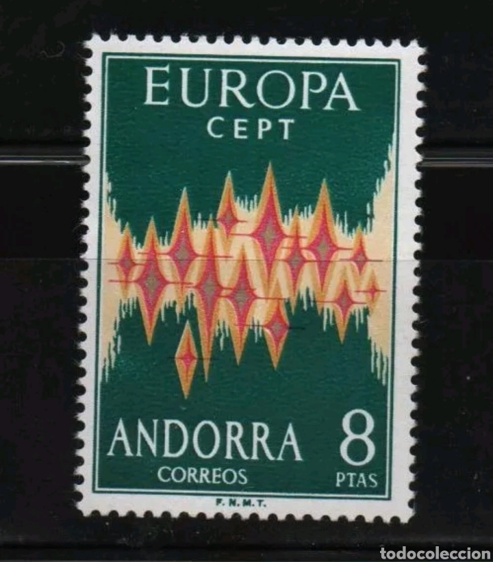 ANDORRA 72** MNH, SUPERLUJO!!! (Sellos - Extranjero - Europa - Andorra)