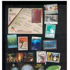 Sellos: SPANISH ANDORRA 2018 - COMPLETE YEAR SET MNH. Lote 151036882