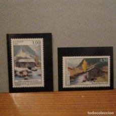 Sellos: ANDORRA FRANCESA 1997, ANFIL Nº 489/490**, MOLA Y SERRADORA.. Lote 151657802