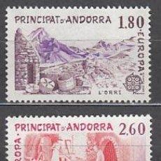 Sellos: ANDORRA FRANCESA CORREO 1983 YVERT 313/4 ** MNH EUROPA. Lote 153669942
