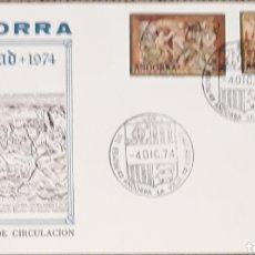 Sellos: SOBRE ANDORRA NAVIDAD ANDORRA LA VIEJA1974. Lote 153832133