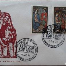 Sellos: SOBRE ANDORRA LA VELLA 1978. Lote 153835988