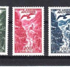 Sellos: ANDORRA FRANCESA- AEREOS - NUMS 2 A 4 NUEVOS SIN FIJASELLOS. Lote 154399870