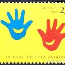 Sellos: SELLO NUEVO DE ANDORRA FRANCESA, YT 438. Lote 155177754