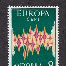 Sellos: 1972 - EUROPA CEPT SELLO NUEVO SIN FIJASELLOS ED. 72 MUY BUENA CALIDAD. Lote 155371486