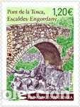 SELLO NUEVO DE ANDORRA FRANCESA, YT 814 (Sellos - Extranjero - Europa - Andorra)
