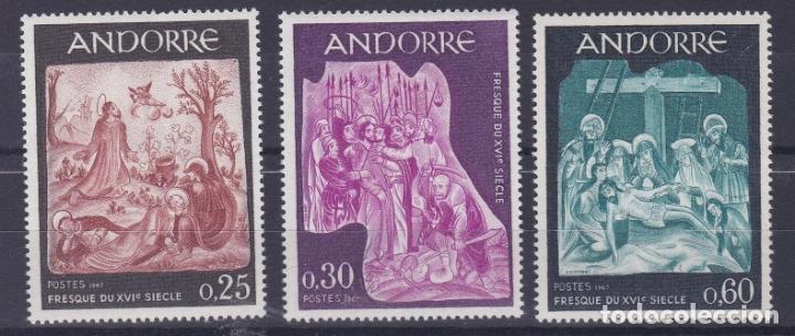 ANDORRA FRANCESA 1967 ** NUEVO - 5/28 (Sellos - Extranjero - Europa - Andorra)