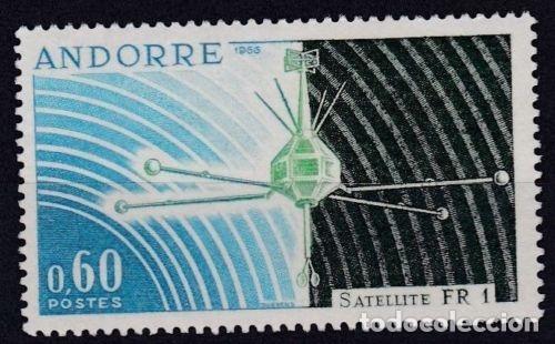 ANDORRA FRANCESA 1966 ** NUEVO - 5/28 (Sellos - Extranjero - Europa - Andorra)