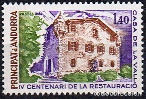 SELLO USADO DE ANDORRA FRANCESA, YT 289 (Sellos - Extranjero - Europa - Andorra)