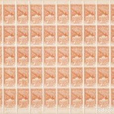 Sellos: HOJA COMPLETA DE 50 SELLOS DE ANDORRA DEL AÑO 1932 NE22 EN PERFECTO ESTADO DE CONSERVACION. Lote 165663622