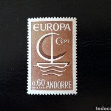 Sellos: ANDORRA FRANCESA. YVERT 178 SERIE COMPLETA NUEVA SIN CHARNELA. EUROPA CEPT.. Lote 168293332
