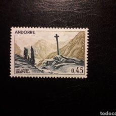 Sellos: ANDORRA FRANCESA. YVERT 204 SERIE COMPLETA NUEVA SIN CHARNELA. CRUZ GOTICA DE MERITXELL. Lote 168318126