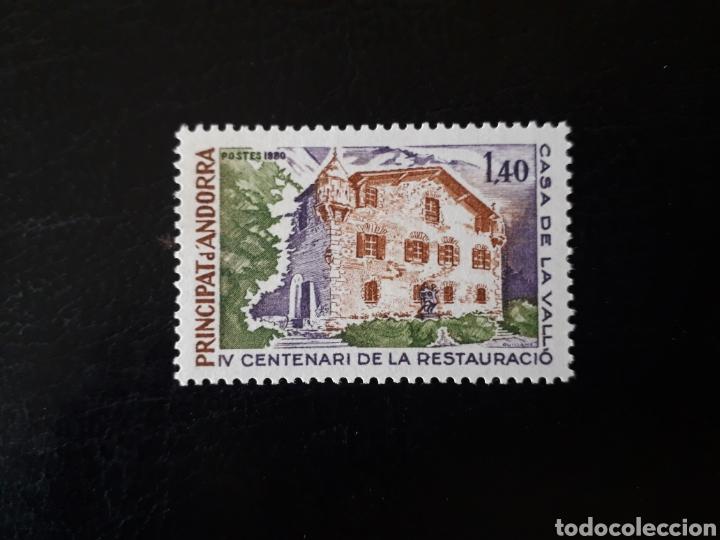 ANDORRA FRANCESA. YVERT 289 SERIE COMPLETA NUEVA SIN CHARNELA. CASA TÍPICA. ARQUITECTURA. (Sellos - Extranjero - Europa - Andorra)