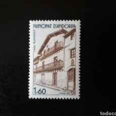 Sellos: ANDORRA FRANCESA. YVERT 326 SERIE COMPLETA NUEVA SIN CHARNELA. CASA TÍPICA. ARQUITECTURA.. Lote 168378616