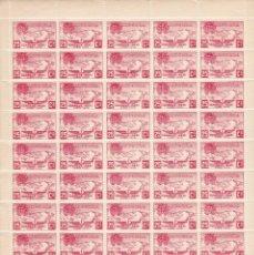 Sellos: HOJA COMPLETA DE 50 SELLOS DE ANDORRA DEL AÑO 1932 NE13 EN PERFECTO ESTADO DE CONSERVACION. Lote 182785262