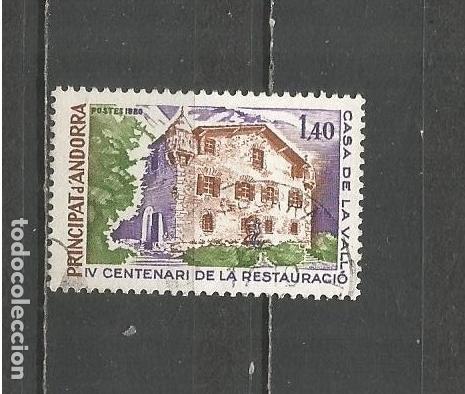 ANDORRA FRANCESA YVERT NUM. 289 USADO (Sellos - Extranjero - Europa - Andorra)