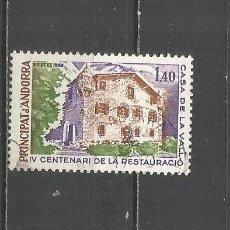 Sellos: ANDORRA FRANCESA YVERT NUM. 289 USADO. Lote 170111836
