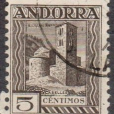 Sellos: ANDORRA - UN SELLO - IVERT:#AD-ES-29 - ***SANT JOAN DE CASELLES*** - AÑO 1936 - USADO. Lote 175851999