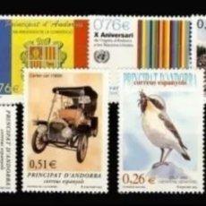 Sellos: ANDORRA : AÑO 2003 COMPLETO Y NUEVO, MNH. Lote 195975727