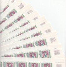 Sellos: 10 PLIEGOS ANDORRA FRANCESA -100 SELLOS DEL NUM.318 1981 NUMEROS CONRRELATIVOS -CAT. 200E.. Lote 177615913