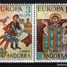 Sellos: GIROEXLIBRIS. ANDORRA ESPAÑOLA.- 1975 TEMA EUROPA CEPT YVERT 89/90** SELLOS NUEVOS. Lote 179537682
