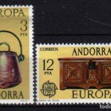 Sellos: GIROEXLIBRIS. ANDORRA ESPAÑOLA.- 1976 EUROPA CEPT YVERT Nº 94/95**. Lote 179538918