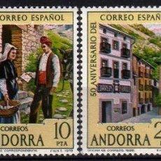 Sellos: GIROEXLIBRIS. ANDORRA ESPAÑOLA.- 1978 50º ANIVERSARIO DEL CORREO ESPAÑOL YVERT Nº 104/07**. Lote 179539973