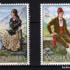 Sellos: GIROEXLIBRIS. ANDORRA ESPAÑOLA.- 1979 TRAJES TÍPICOS YVERT Nº 113/114** . Lote 179541890