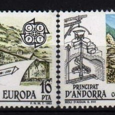 Sellos: GIROEXLIBRIS. ANDORRA ESPAÑOLA.- 1982 EUROPA CEPT YVERT Nº 158/159** SELLOS NUEVOS. Lote 179545820
