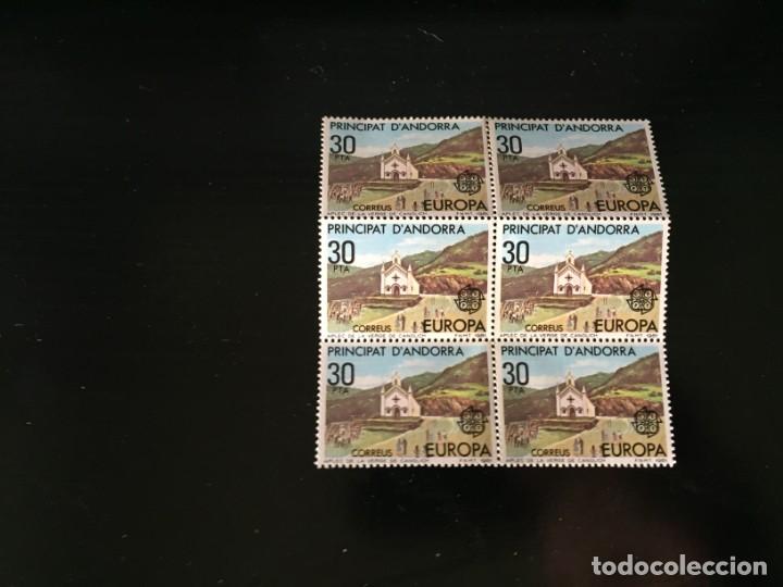 ?SELLOS ANDORRA AÑO 1981 BLOQUE DE 6 SELLOS LOS DE LA FOTO NUEVOS VER TODOS MIS SELLOS (Sellos - Extranjero - Europa - Andorra)