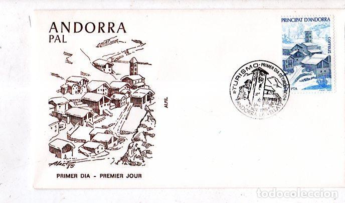 SOBRE PRIMER DIA. ANDORRA. PAL. 1985. VER FOTO. (Sellos - Extranjero - Europa - Andorra)