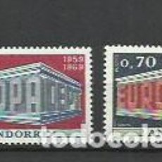 Sellos: ANDORRA 1969. Lote 194909242