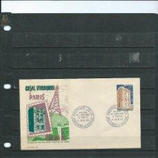 Sellos: SOBRE DE PRIMER DIA DE ANDORRA FRANCESA DE LA CASA DE ANDORRA EN PARIS DEL AÑO 1965. Lote 198137073