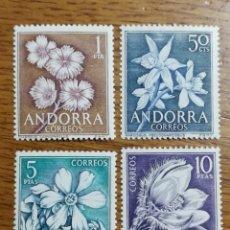 Sellos: ANDORRA N°61/64 MNH (FOTOGRAFÍA REAL). Lote 199406203