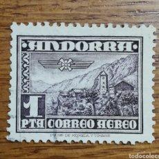 Sellos: ANDORRA N°59 USADO (FOTOGRAFÍA REAL). Lote 199407193